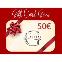 GIFT CARD GINO 50€