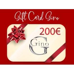 GIFT CARD GINO 200€