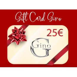 GIFT CARD GINO 25€
