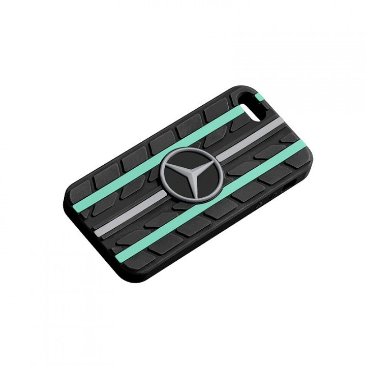 Cover Iphone 5 5s Silicone Mercedes Benz